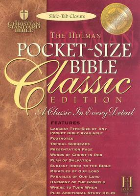 Pocket Size Bible-HCSB-Classic