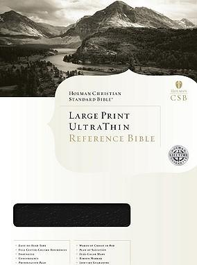 Ultrathin Reference Bible-Hcsb-Large Print