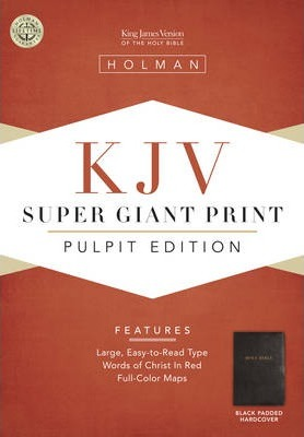 Pulpit Bible-KJV Super Giant Print