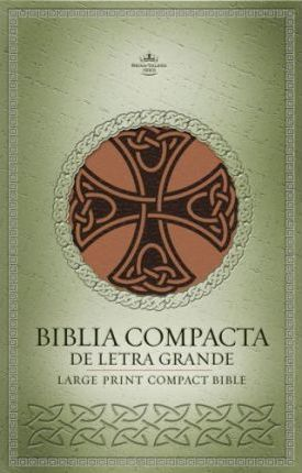 Large Print Compact Celtic Cross Bible-RV 1960