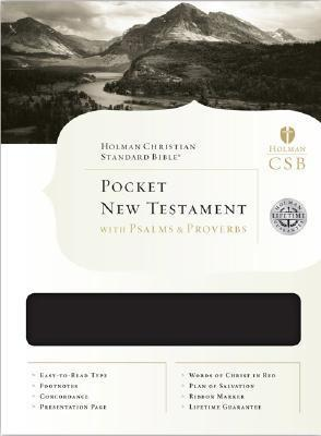 Pocket New Testament with Psalms and Proverbs-HCSB