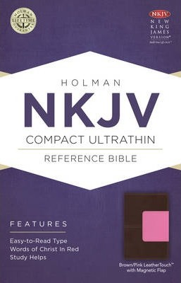Compact Ultrathin Bible-NKJV-Magnetic Flap Closure