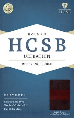 Ultrathin Reference Bible-HCSB