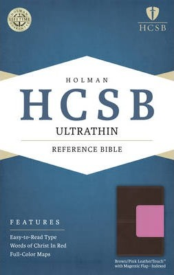 Ultrathin Reference Bible-HCSB-Magnetic Flap