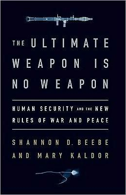 The Ultimate Weapon is No Weapon