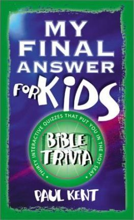 My Final Answer for Kids