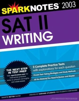 SAT II Writing (Sparknotes Test Prep)