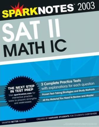 SAT II Math IC (Sparknotes Test Prep)