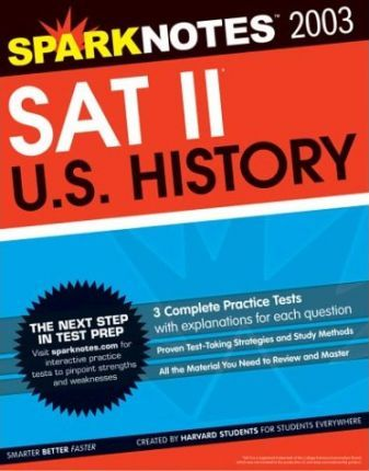 SAT II United States History (Sparknotes Test Prep)