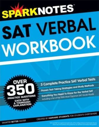 SAT Verbal Workbook (Sparknotes Test Prep)