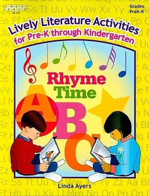 Lively Literature Activities for Pre-K through Kindergarten