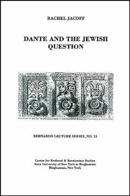 Dante and the Jewish Question