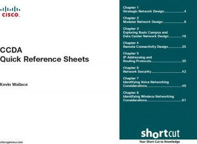 Ccda Quick Reference Sheets