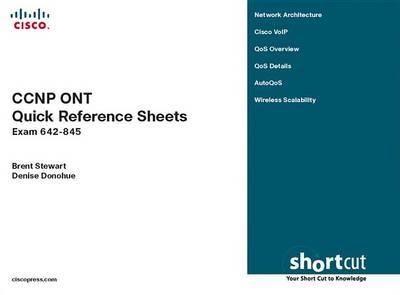 CCNP Ont Quick Reference Sheets