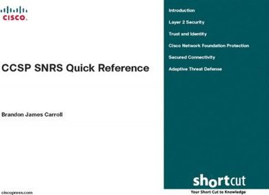 Ccsp Snrs Quick Reference Sheets