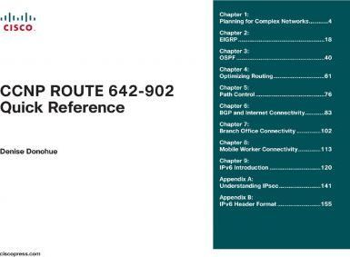 CCNP Route 642-902 Quick Reference