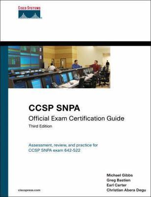 CCSP Snpa Official Exam Certification Guide
