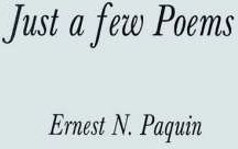 Just a Few Poems