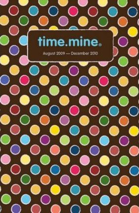 2010 Time.Mine Whimsy Flowers 17 Month Planner