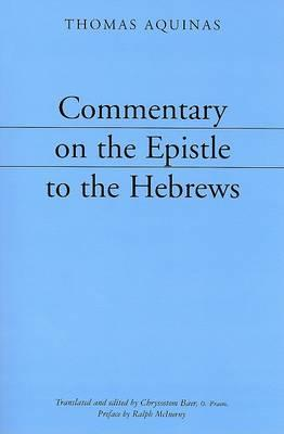 Commentary on the Epistle to the Hebrews