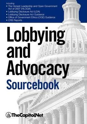 Lobbying and Advocacy Sourcebook