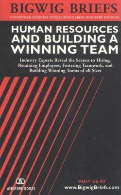 Human Resources and Building a Winning Team