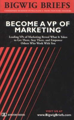 Become a VP of Marketing
