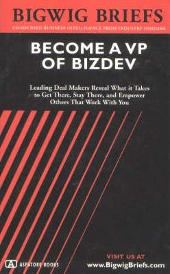 Become a VP of BizDev