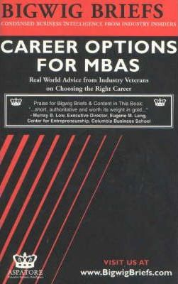 Career Options for MBAs
