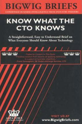 Know What the Cto Knows