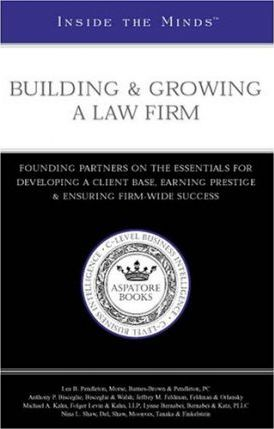 Building & Growing a Law Firm