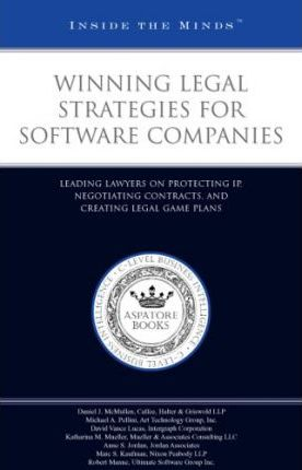 Winning Legal Strategies for Software Companies