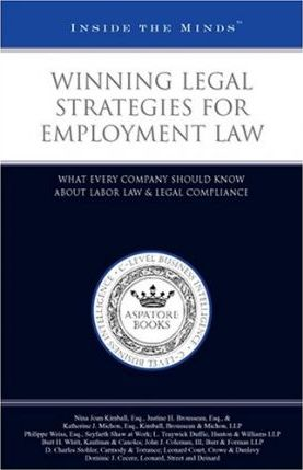 Winning Legal Strategies for Employment Law
