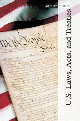 U.S. Laws, Acts and Treaties