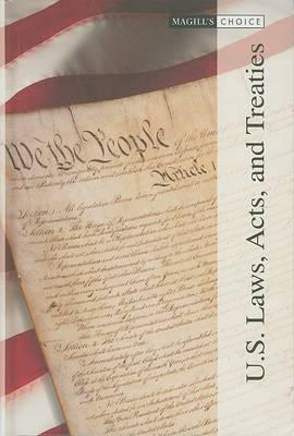 U.S. Laws, Acts, and Treaties, Volume 2