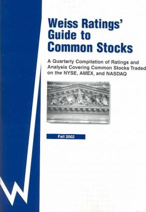 Weiss Ratings Guide to Common Stocks
