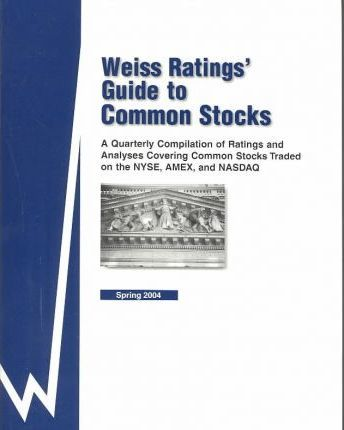 Weiss Rating's Guide to Common Stocks