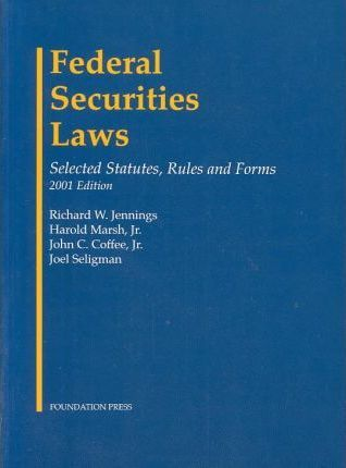 Federal Securities Laws Stat