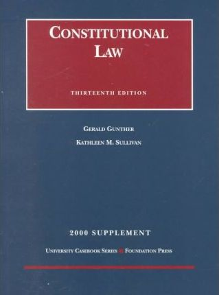 Constitutional Law Supp 2000