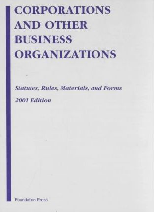 Corp and Other Business Org