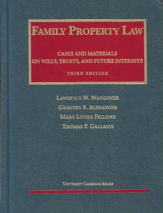 Family Property Law 3rd Ed
