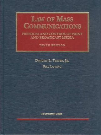 Law of Mass Communication 10ed