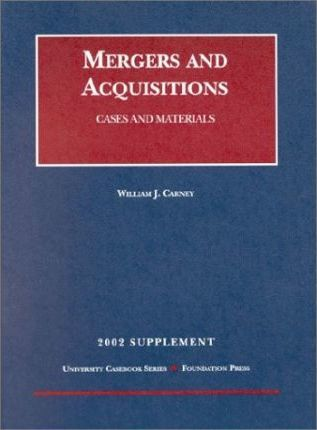 Mergers & Acquisitions Supp 02