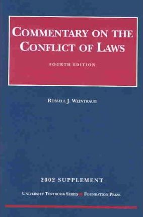 2002 Supplement Commentary Law