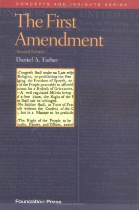 Fabers the First Amendment 2d