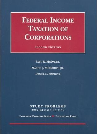 Federal Income Taxation of Corporations