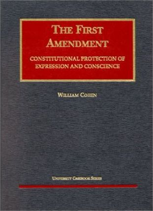 Cohen's the First Amendment