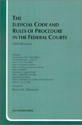 Judicial Code and Rules, 2003
