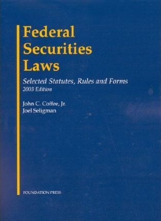 Federal Sec Law Stat Rule Form