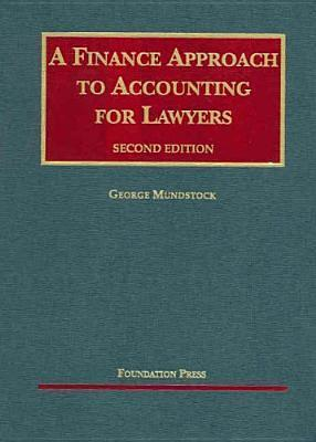 A Finance Approach to Accounting for Lawyers